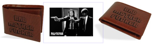 Pulp Fiction Geldbeutel. Bestelle den Bad Mother Fucker Geldbeutel bei MegaGadgets.